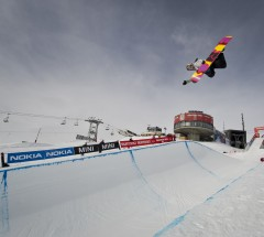 Arielle Gold at the Burton European Open 2013 - Photo: Laemmerhirt