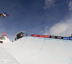 Kelly Clark at the Burton European Open 2013