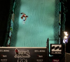 Marko Grilc at Billabong Air & Style 2013 Legends Session