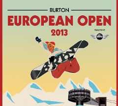 Burton European Open 2013 - Halfpipe