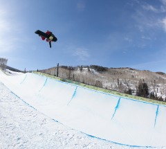 Chloe Kim - Women's semi final at the Burton US Open 2013 - Photo: Jeff Patterson