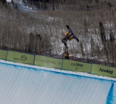 Gretchen Bleiler- Women's semi final at the Burton US Open 2013 - Photo: Jeff Patterson