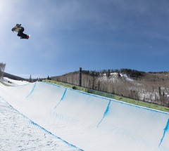 Kelly Clark - Women's semi final at the Burton US Open 2013 - Photo: Jeff Patterson