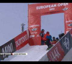 Luke Mitrani - Burton European Open 2013 - Halfpipe Finals