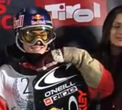 Sebastien Toutant - 2nd Place at Billabong Air & Style 2013