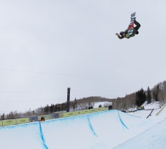 Christian Haller at the Burton US Open 2013