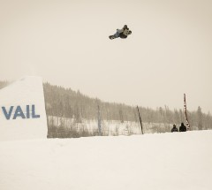 Chas Guldemond (USA) takes 3rd place at the Burton US Open 2013 Slopestyle Finals