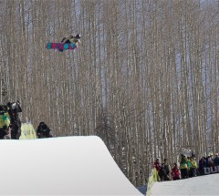 Hannah Teter (USA) takes 2nd place at the Burton US Open 2013 Halfpipe Finals
