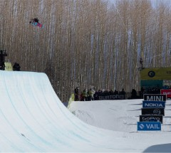 Kelly Clark (USA) takes 1st place at the Burton US Open 2013 Halfpipe Finals