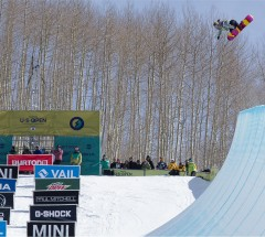 Arielle Gold (USA) takes 3rd Place at the Burton US Open 2013 Halfpipe Finals