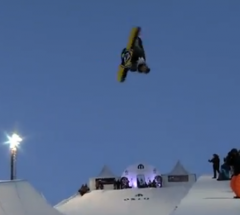 Arthur Longo   Final run at the Arctic Challenge Halfpipe 2013   YouTube