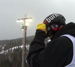 Arthur Longo   Semi Final run at the Arctic Challenge Halfpipe 2013   YouTube