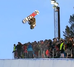 Christian Haller   Final run at the Arctic Challenge Halfpipe 2013   YouTube