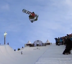 Christian Haller   Semi Final run at the Arctic Challenge Halfpipe 2013   YouTube