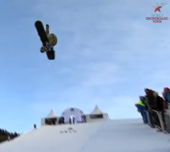 Iouri Podladtchikov   Semi Final run at the Arctic Challenge Halfpipe 2013   YouTube