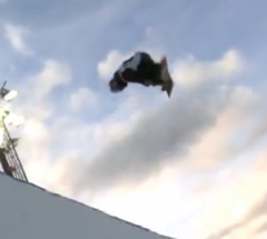 Louie Vito   Semi Final run at the Arctic Challenge Halfpipe 2013   YouTube