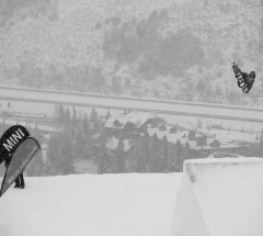 Peetu Piiroinen (FIN) at the Burton US Open 2013 Slopestyle Finals