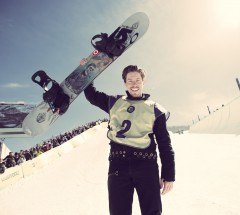 Shaun White - Winner of the Halfpipe Contest of the Burton US Open 2013