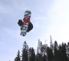 Taku Hiraoka   Semi Final run at the Arctic Challenge Halfpipe 2013   YouTube