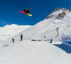 Torstein Horgmo qualifies first at Slopestyle Semi Finals at X Games Tignes - Photo: Andy Parant