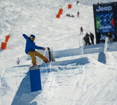 Roope Tonteri at X Games Tignes 2013 Slopestyle Semi Finals - Photo: Andy Parant