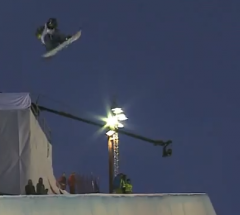 Yiwei Zhang   Final run at the Arctic Challenge Halfpipe 2013   YouTube