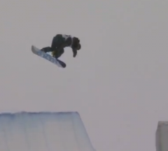 Yiwei Zhang   Semi Final run at the Arctic Challenge Halfpipe 2013   YouTube