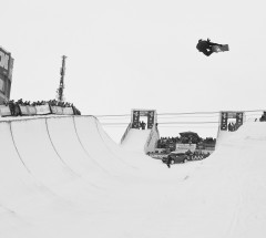 Iouri Podladtchikov at the Burton European Open Halfpipe semi finals - Photo: Laemmerhirt
