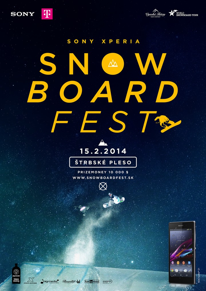 Sony Xperia Snowboard Fest 2014 offers plenty of attractions for spectators and their children
