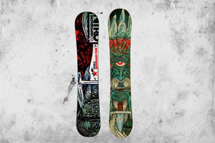 Win another World Snowboard Tour Edition Nitro T1.5 Snowboard