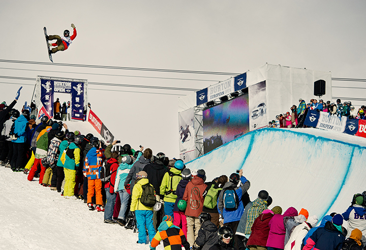 Top Riders Are Confirmed For The 2015 Burton European Open Presented By MINI In Laax