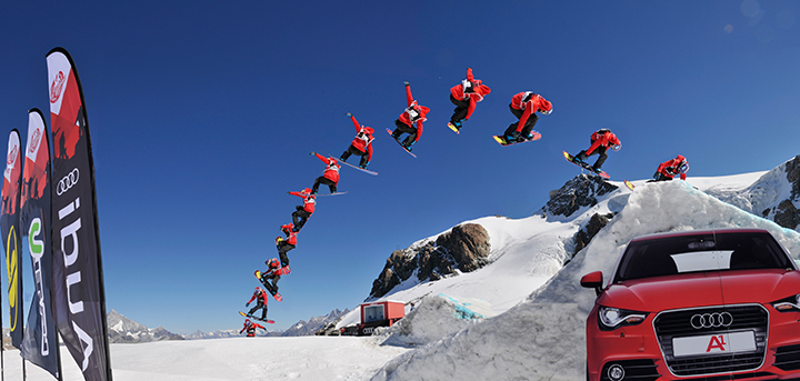 Audi Snowboard Series – Big Air contest replaces the Pipe event in Davos