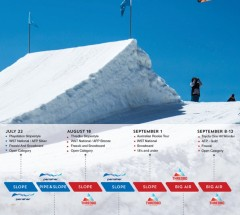 2016 SSA Park and Pipe Series - Poster